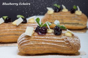 Pastry and cake shop - Eclairs