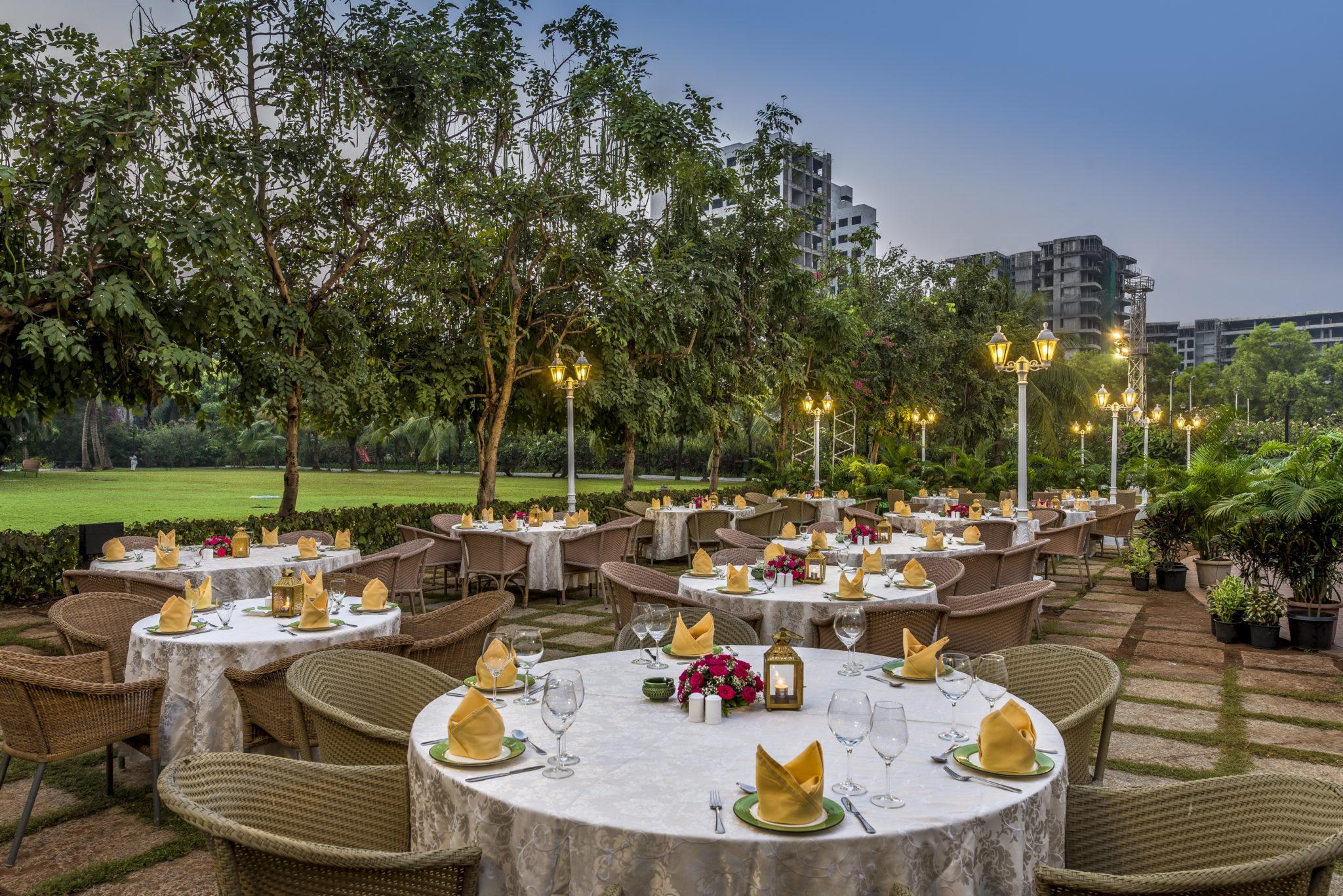Garden Grill - The Club Mumbai