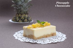 Pastry and cake shop - Pineapple cheesecake